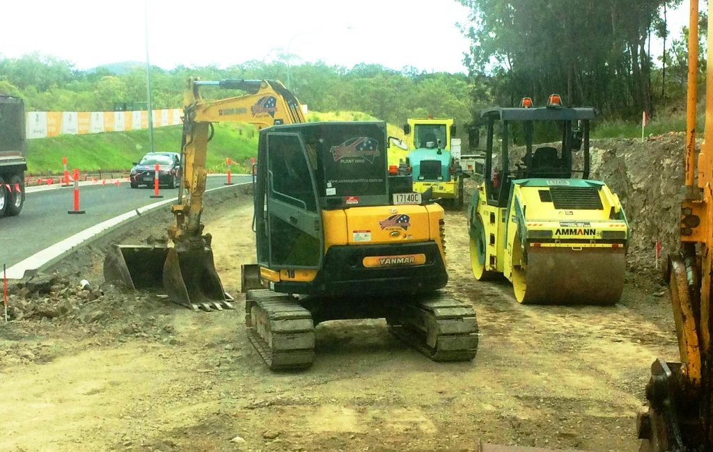 All Road Work Machinery for Hire