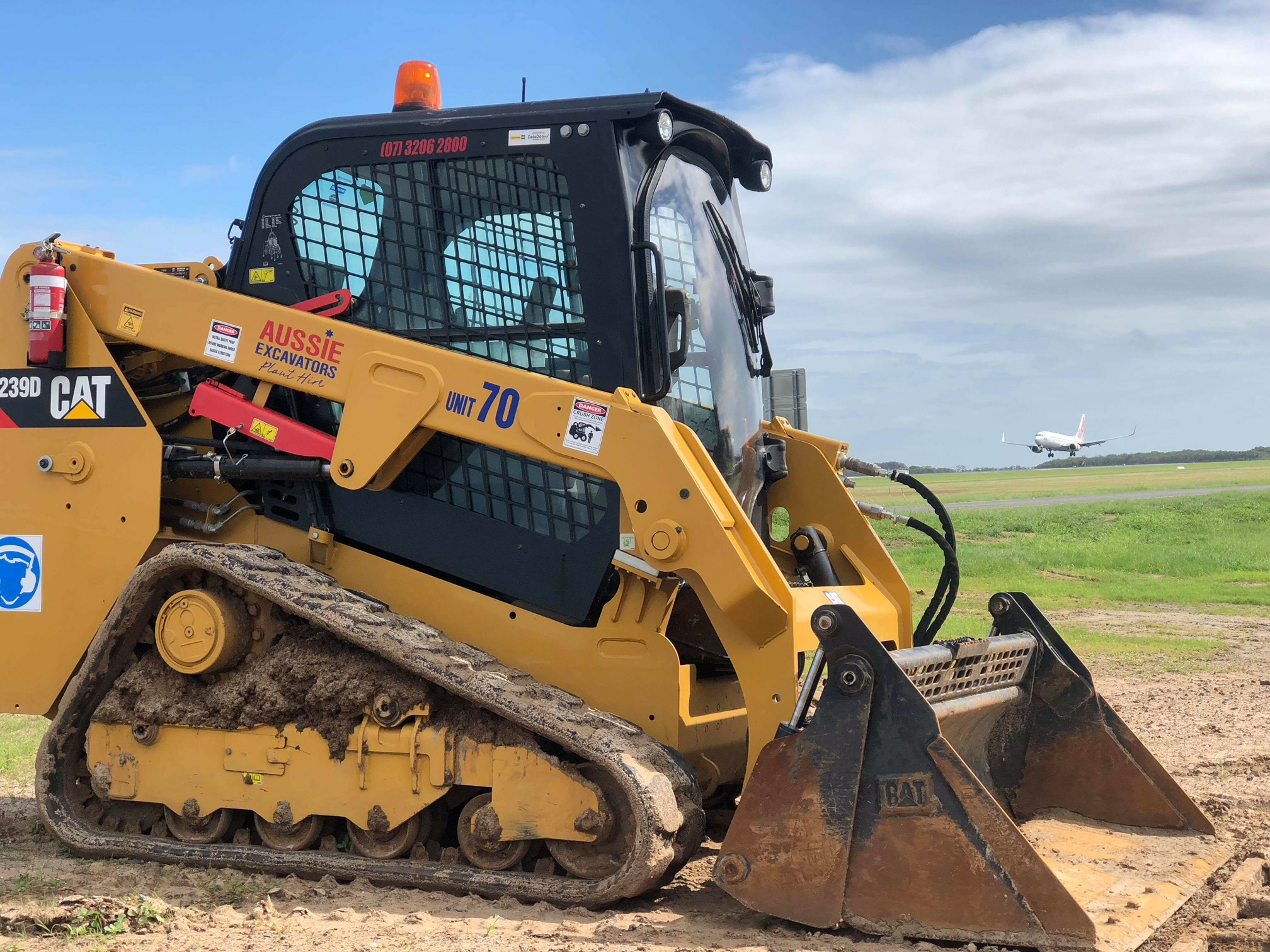 CAT Positrack & Excavators