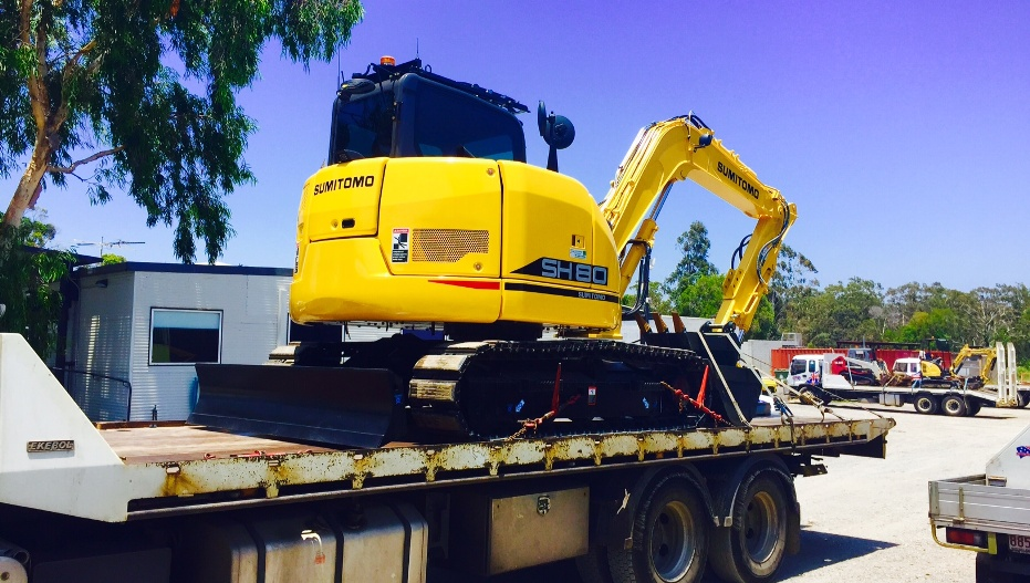 machine hire - earthmoving brisbane northside