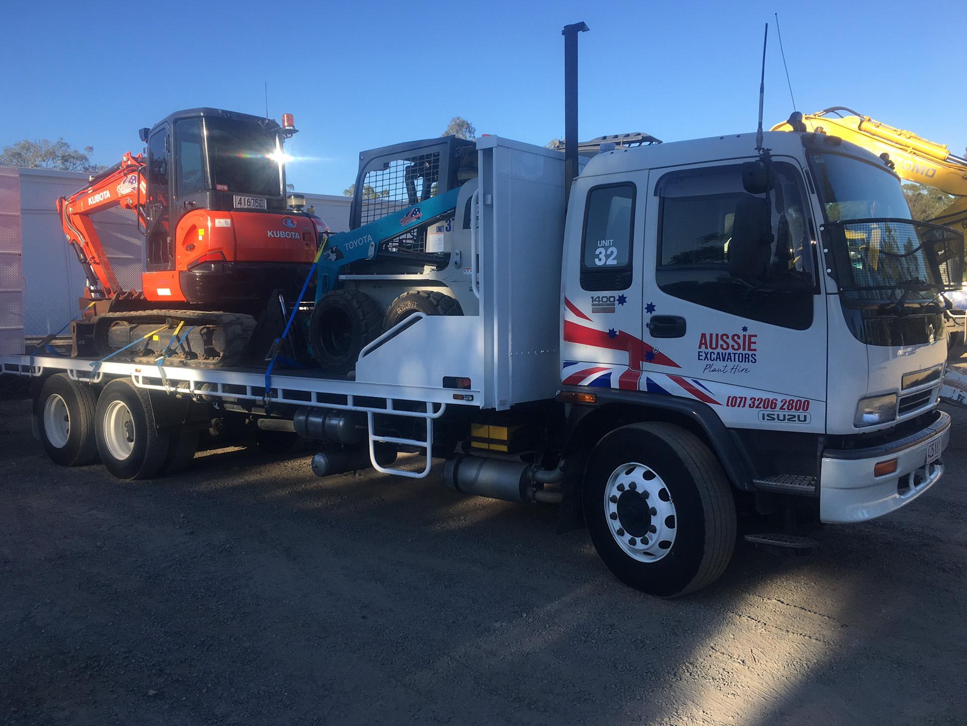 truck hire - tipper truck hire brisbane